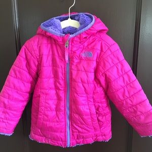 NORTH FACE Hooded Toddler Reversable Jacket